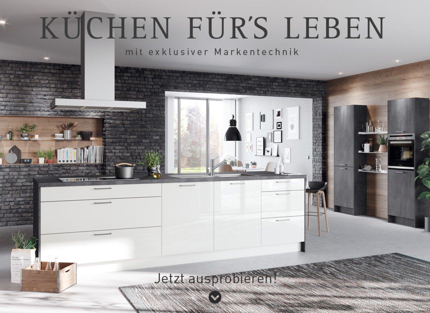Küche Laser Brillant / Comet in Weiß