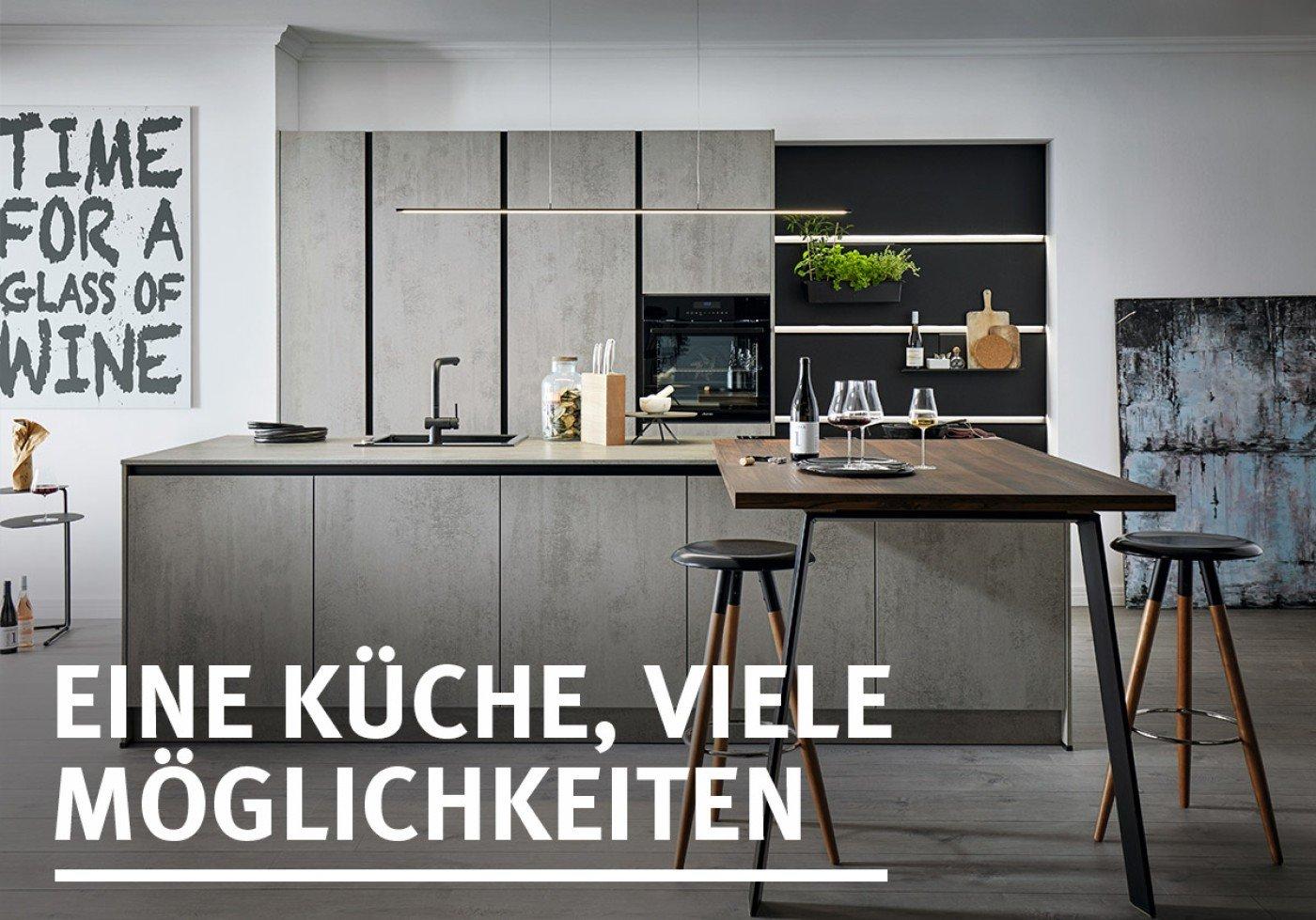 Eine Küche, viele Möglichkeiten