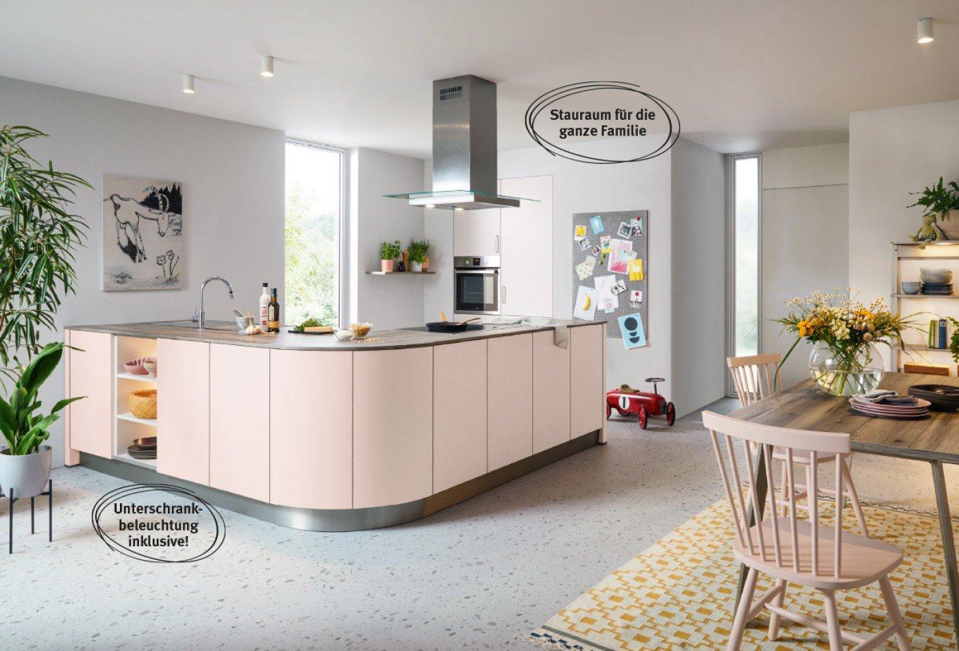 Zweizeilige Küche