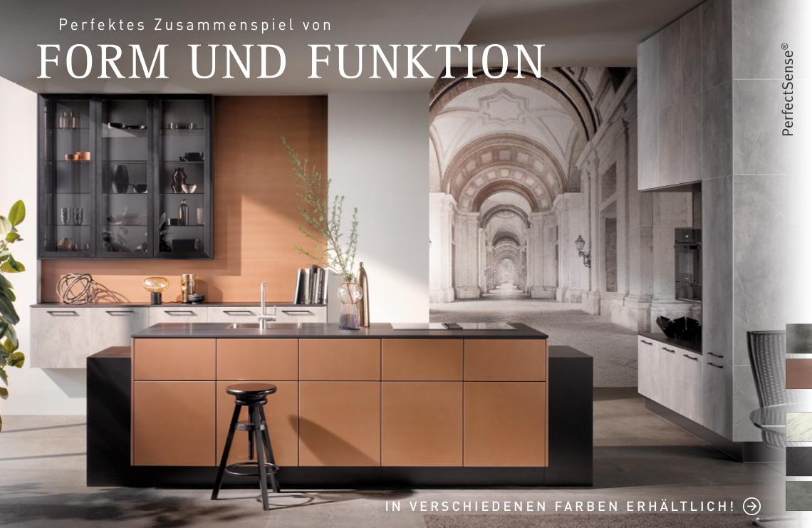 Perfektes Zusammenspiel von Form und Funktion