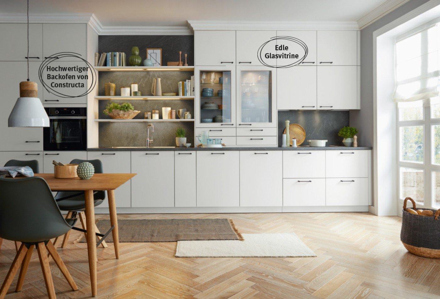Wohnküche mit extra Stauraum