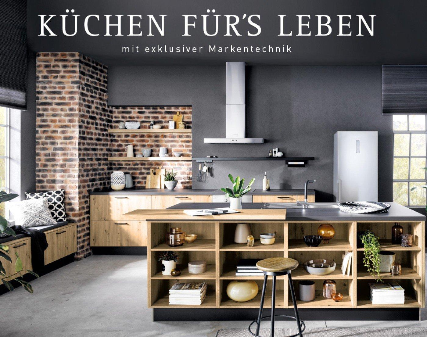 Küche neu erleben - mit hochwertiger Markenausstattung