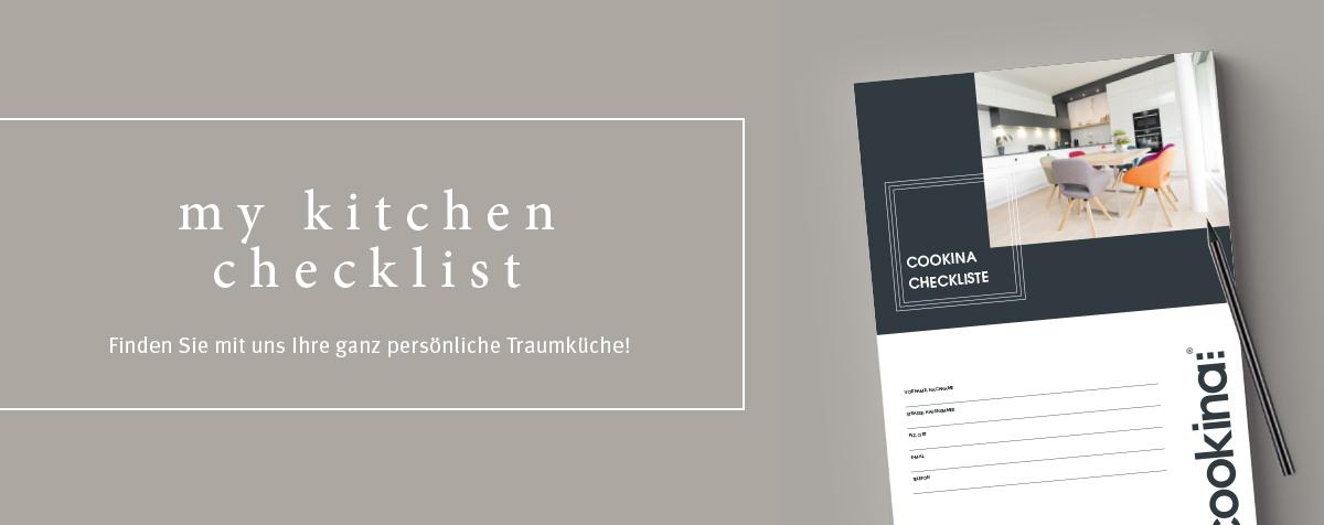 My kitchen checklist